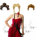 Mascara para Photoshop – Dama de Vermelho