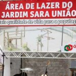 Prefeito de Osasco entrega área de lazer no Jardim Sara União