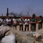 Ibama incinera 73 mil metros de rede de emalhar no Ceará