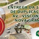 Prefeitura de Osasco entrega primeira fase de duplicação da avenida Visconde de Nova Granada