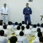 Judoca Tiago Camilo e jornalista José Trajano participam de evento esportivo em Osasco