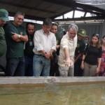 Fiscais recebem treinamento para identificação de peixes ornamentais no Ceará