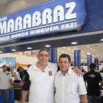 Emidio participa da inauguração da 5ª loja Marabraz de Osasco