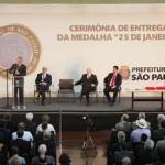 Prefeito Emidio prestigia condecoração de Lula em São Paulo