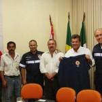 Prefeito Emidio recebe equipe do SAMU em Osasco