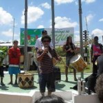 """Música e dança animam """"Domingo no Parque"""" no Jardim das Flores, em Osasco"""