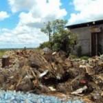 Ibama promove a destruição de cerca de 500 gaiolas e 120 redes de pesca