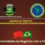 """Osasco promove seminário """"Oportunidades de Negócios com a China"""""""