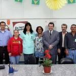 Prefeito Emidio e secretário de Saúde, Gelso de Lima, entregam reforma de UBS na Vila Yolanda, em Osasco