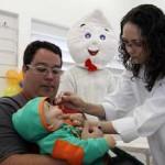 Campanha contra a paralisia infantil foi prorrogada até sexta-feira em Osasco