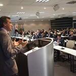 Ministro da Pesca palestra na Fiesc sobre o Aquapescabrasil e anuncia novos dados estatísticos da produção de pescado em Santa Catarina