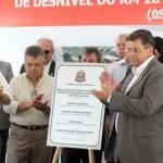 Prefeito de Osasco, Emidio de Souza anuncia obras complementares ao Complexo Anhanguera