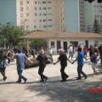 """""""Danças circulares"""" integram nova atividade no Parque do Jardim Piratininga de Osasco"""