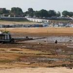 Rio Negro-AM sobe 17 centímetros desde domingo