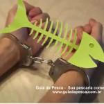 Fiscais da Sema e policiais militares prendem homem em flagrante por pesca predatória em Cuiabá