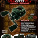 Carretilha Lubina GTO Black Widow
