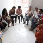 Ativistas bolivianas visitam projetos habitacionais de Osasco