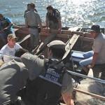 Lagoa dos Patos- Operação combate a pesca ilegal