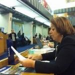 Ministra Ideli discursa na abertura da reunião da FAO, em Roma, e pede cooperação técnica para desenvolver o setor