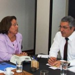 Ministra da Pesca e Ministro da Saúde definem ações conjuntas