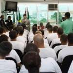 GCMs de Osasco participam de aula inaugural para futuros guardas de Carapicuíba