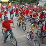 1,8 mil pessoas participam do Passeio Ciclístico da Emancipação de Osasco