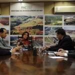 Prefeito de Osasco, Emídio de Souza, se reúne com ministros em Brasília