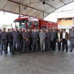 Prefeito Emidio visita a sede do Corpo de Bombeiros em Osasco