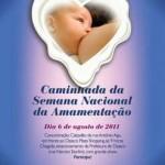 Osasco promove II Caminhada da Semana Nacional de Aleitamento Materno
