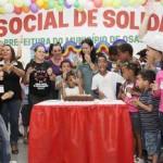 Fundo Social de Solidariedade de Osasco promove festa antecipada em comemoração ao Dia das Crianças