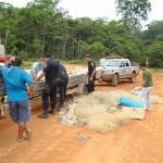 Fiscalização apreende rede de pesca em parque ecológico de Colniza