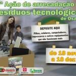 Osasco promove a 2ª Ação de Arrecadação de Resíduos Eletrônicos