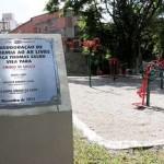 Prefeito Emidio entrega mais três academias ao ar livre em Osasco