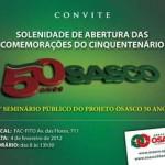 Seminário do Projeto Osasco 50 Anos abre as comemorações do cinquentenário