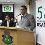 Emidio participa de Sessão Solene na Câmara em homenagem ao Cinquentenário de Osasco
