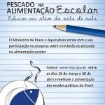 MPA faz mapeamento do consumo de pescado nas escolas públicas brasileiras