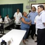 Prefeito visita Centro de Documentação da Saúde e as novas instalações do PAD
