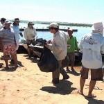 Associação de Pesca Esportiva de Três Lagoas realiza mutirão nos rios recolhe 500kg de lixo