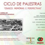Influência de imigrantes e operários na formação de Osasco é tema do próximo Ciclo de Palestras