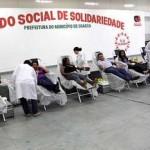 Fundo Social de Osasco promove campanha de doação de sangue