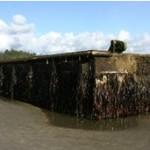 Doca de 165 toneladas arrancada por tsunami é achada nos EUA