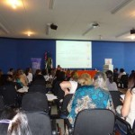 Osasquenses participam de Fórum sobre Surdocegueira na Uniban