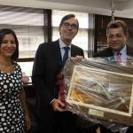 Prefeito de Osasco se reúne com cônsul geral da Itália em São Paulo