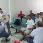 Juazeiro – Pescadores protestam contra interdição do Exército Brasileiro à Ilha do Fogo