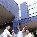 Jorge Lapas visita Hospital Municipal Central e UBS no Jardim D'Avila