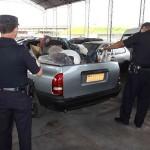 GCM e Demutran de Osasco apreendem e multamm dois automóveis despejando entulho em vias públicas