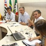 Em reunião com a Sabesp, Lapas cobra melhoria nos serviços e cumprimento dos prazos para obras de saneamento básico