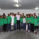 Novos acolhedores das unidades de saúde de Osasco apresentam os primeiros resultados ao prefeito e secretários