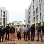 Prefeito acompanha construções de moradias populares no Flamenguinho e Área BK