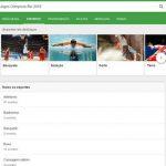Google nas Olimpíadas 2016